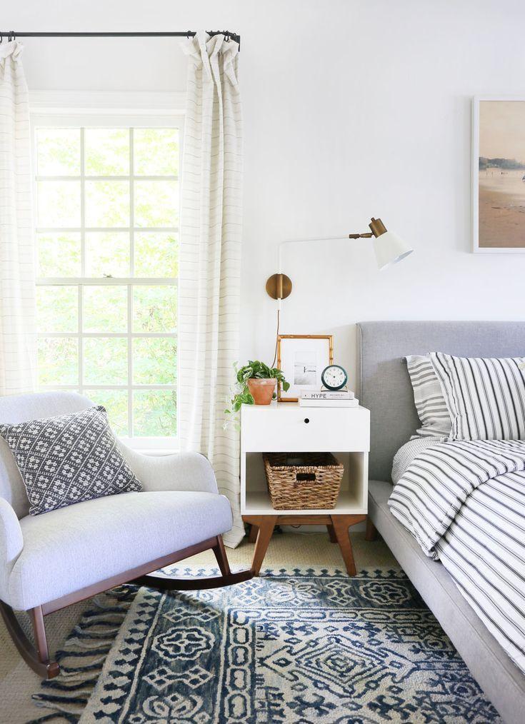 5 Ways To Add Coastal Charm To Your Landlocked Bedroom Sunny Circle Studio Chic Bedroom Design Eclectic Bedroom Home Decor Bedroom