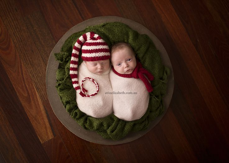 11 week old twins erin ava perth newborn twins photography