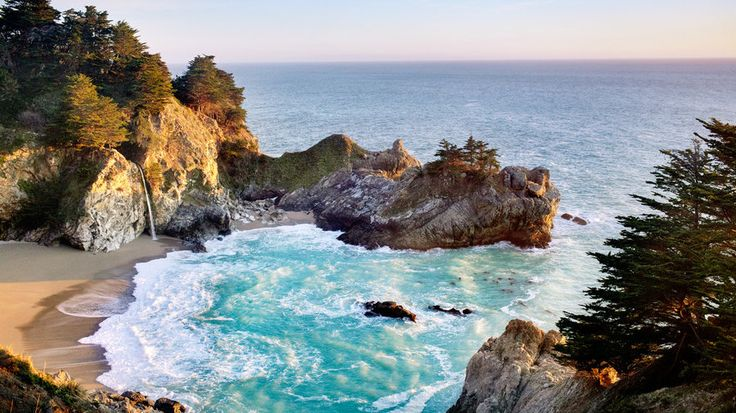 Julia Pfeiffer Burns State Park, Big Sur, CA   Hit the trail on these iconic and under-the-radar hikes through unforgettable desert, mountain, and coastal terrain