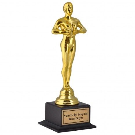 Oscar ödüllerinde erkek egemenliğine son!  Artık bayanlara da kırmızı halının keyfini çıkartacak. Bayan Oscar Ödülü bayanlara kendilerini çok özel hissedecek. Ömür boyu saklayacakları bu ödül onların başarılarının yeni sembolü.Üzerine kişiye özel yazı da yazabileceğiniz heykelcikler sadece ama sadece bayanlara özel.