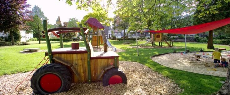 Spielplatz des Hotels Schütte in Schmallenberg-Oberkirchen, Sauerland