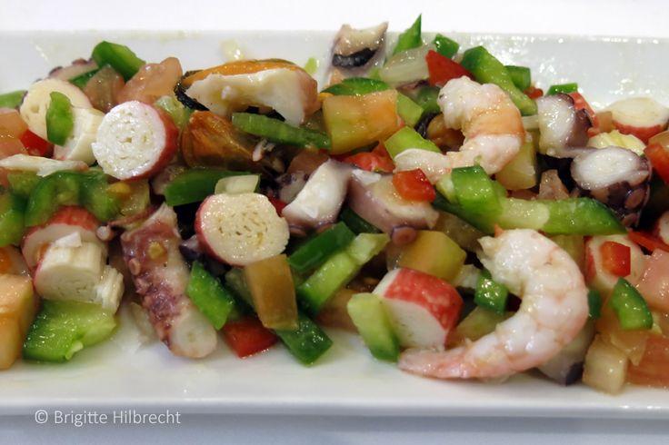 #Andalusia  #Food Fish salad / All places of interest you'll find here: http://www.amazon.co.uk/M%C3%A1laga-Capital-Coast-Brigitte-Hilbrecht/dp/1517300533/ref=sr_1_1?s=books&ie=UTF8&qid=1456574193&sr=1-1&keywords=malaga