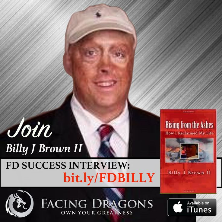 FD14 RISING FROM THE ASHES – @billyjbrownls @MOTIVATIONAL SPEAKER