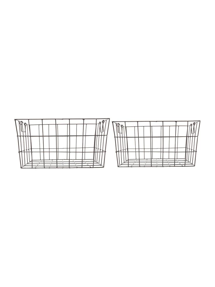 Buy your Linea Wire Tapered Set Of 2 Baskets online now at House of Fraser. Why not Buy and Collect in-store?