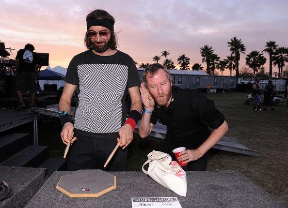 Bryan Devendorf and Matt Berninger of the band The National