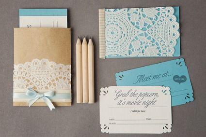 cardmakingLace, Diy Wedding Invitations, Paper Doilies, Handmade Wedding, Wedding Ideas, Night Invitations, Gift Cards, Date Nights, Dates Night