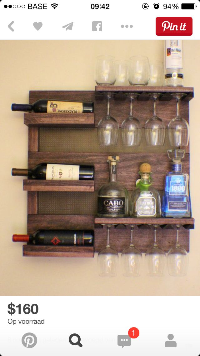 1f4e9f15e8a92bcf598b445e21e19d1a.jpg (640×1136) | Cabin | Pinterest | Pallets, Wine rack and Wine