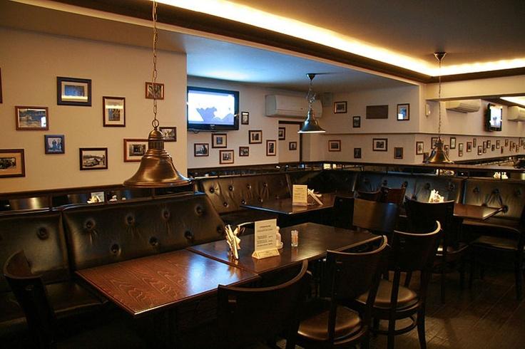 освещение ресторана Галон Бир светильники на заказ