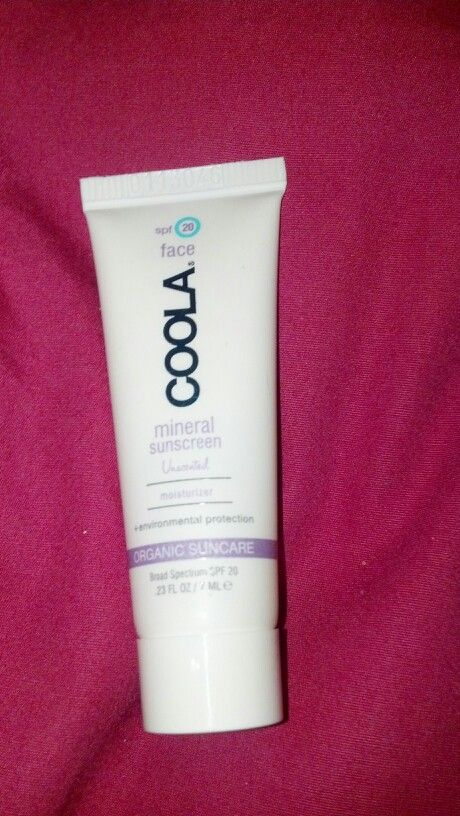 Coolamineral sunscreen spf 20 7ml