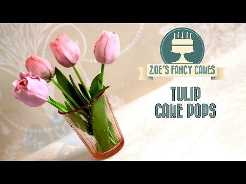 How to make tulip cake pops flower cake pop tutorial cake decorating. Link download: http://www.getlinkyoutube.com/watch?v=Dkz4wqozuKc