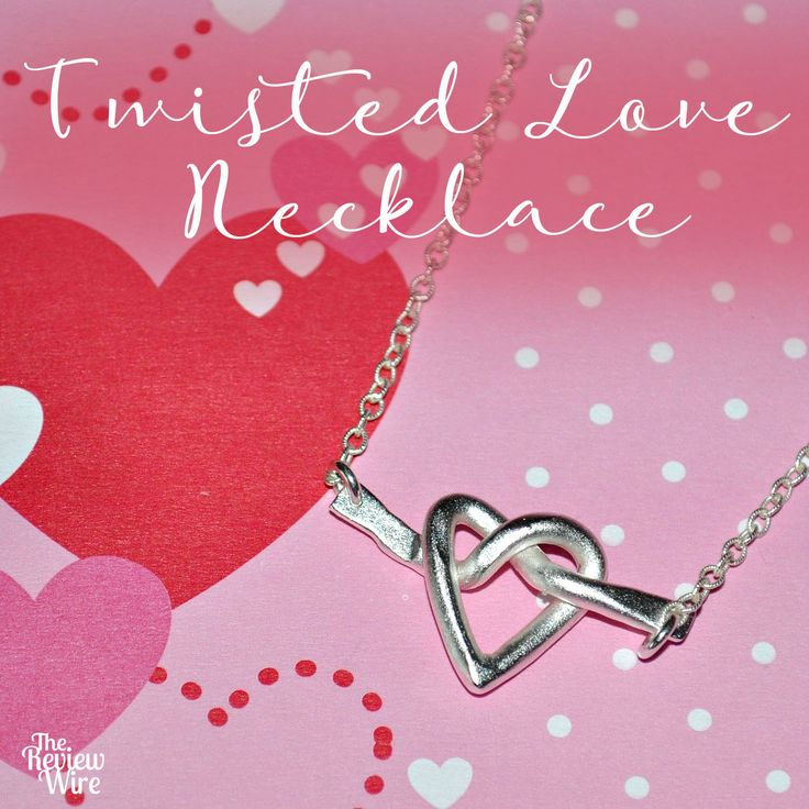 Isabelle Grace Jewelry: Twisted Love Necklace + Giveaway  #jewelry #necklace #love #valentinesday #fashion