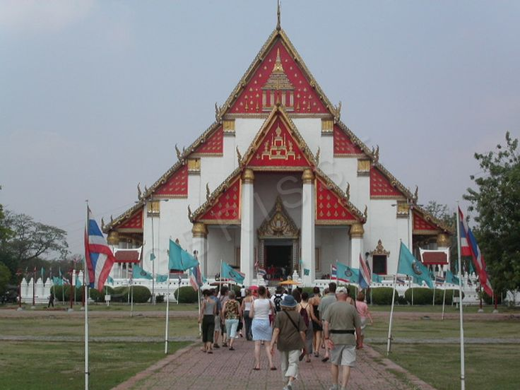 Thaïlande - Wihan Phra Mongkhon Bophit