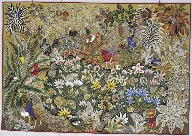 milles fleurs tapestry . . . Dom RobertsSecret Gardens, Dom Robert, Mills Fleur, Fleur Tapestries, Pye Charts, Dominican Monk, Gardens Seasons, Beautiful Tapestries, Child Of Lights