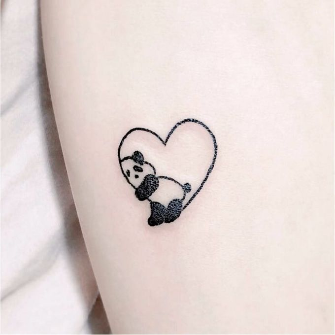 Panda tattoo. Tattoo inspiration