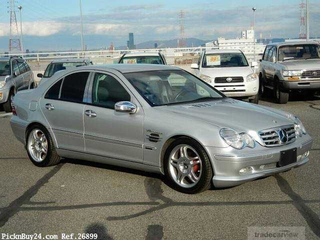 2001 Mercedes-Benz C-Class GF-203045 .