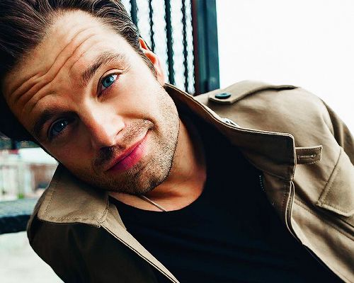 Sorry for all the pins of Sebastian Stan, but look at his eyes, wow.