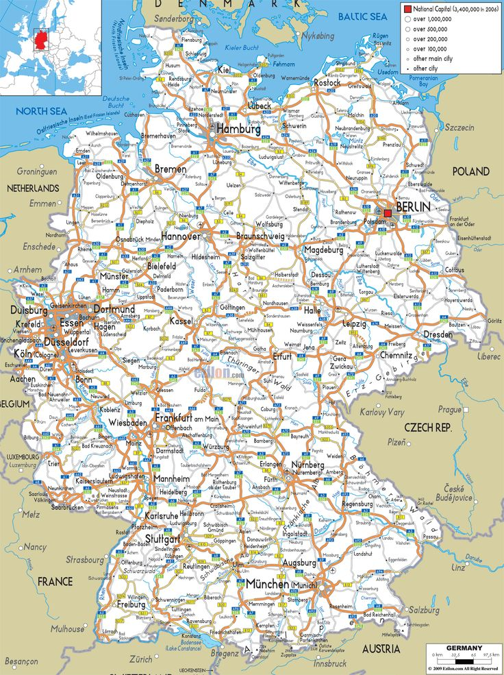 Germany Road Map Happy New Year Meme - Germany map by year