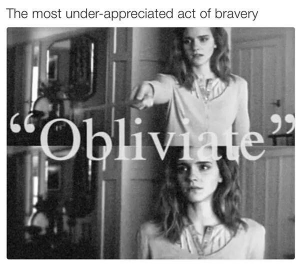 A different kind of bravery, one we don't usually consider.