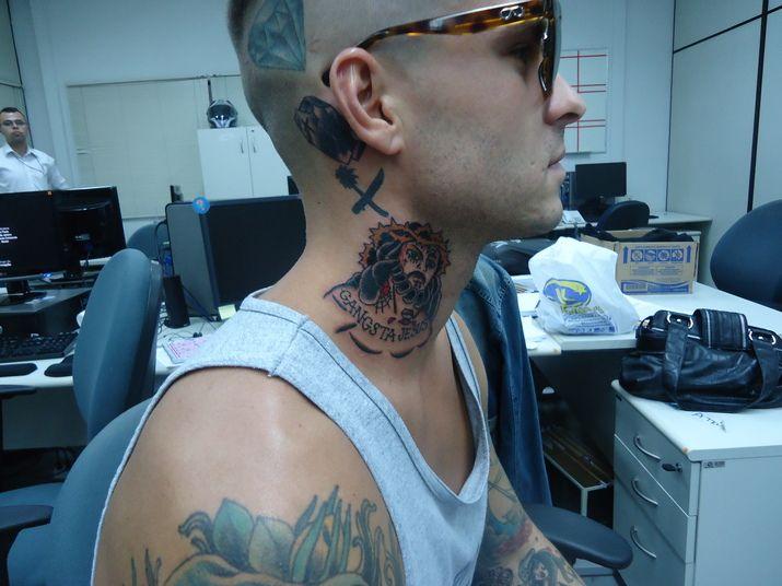 MV neck tattoos