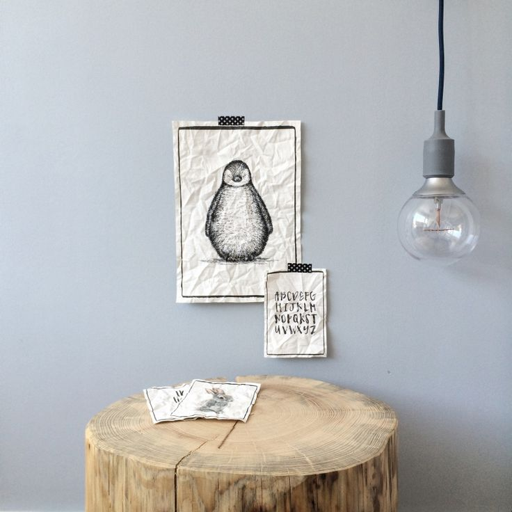 Canvas print Pinguin