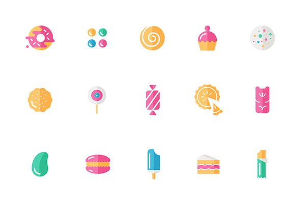 Candy Icons on Behance