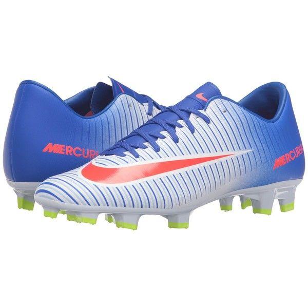 Nike Mercurial Victory VI FG (White/Racer Blue/Volt/Bright Crimson). Nike  Football BootsBlue ShoesWhite ...