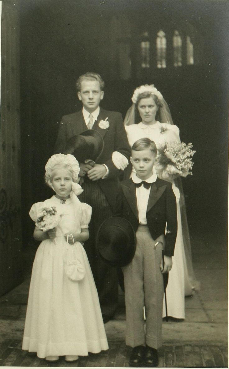 The marriage of Paul van Hoeckel with Ms. Keser, 1951. Stadsarchief 's-Hertogenbosch, CC BY-SA