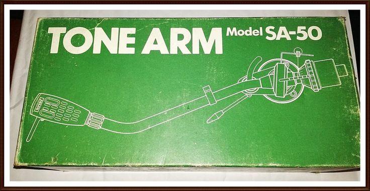 Vintage Silver Metal  Jelco Tone Arm Model SA-50  #Jelco
