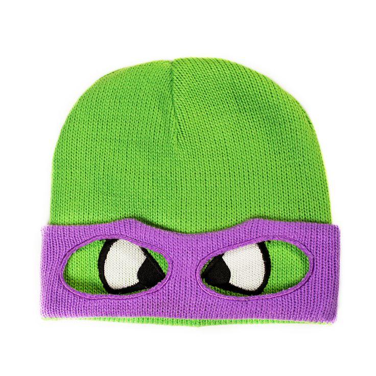 Beanie #Turtles - #Donnie #keps #mössa #beanie #cap #clothes #fashion #swag #love #girl #girls #hat #snapback