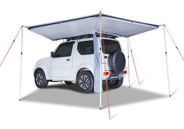 Foxwing Eco 2 1 Awning Side Wall By Rhino Rack Pf Adventure Roof Top Tent Roofing Roof Rack