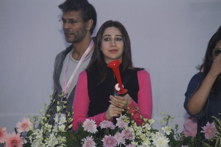 Karishma Kapoor and Tara Sharma at Pinkathon International Women Run.