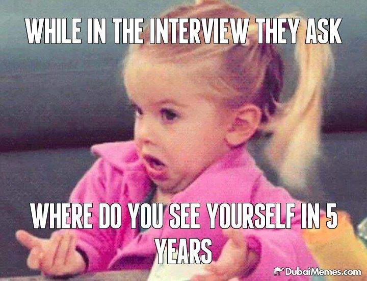 interview skills where do you see yourself in 5 years time