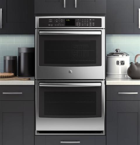 Our GE Profile Series Built In Double Convection Wall Oven Can Be  Controlled From Your. Kitchen OvenKitchen AppliancesKitchen ...