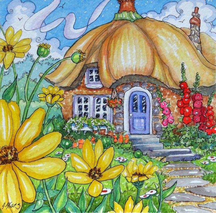 Mejores 2486 im genes de casas en pinterest dibujos de for Piani di casa cottage storybook