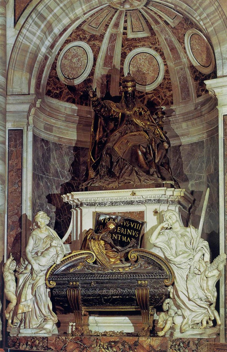Bernini - Tomba Papa Urbano VIII