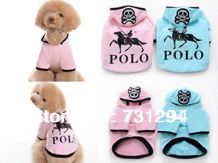 Pet рубашка собака рубашки одежда для животных одежда для собак pet products новый Розовый С Капюшоном Череп pet t-shirt