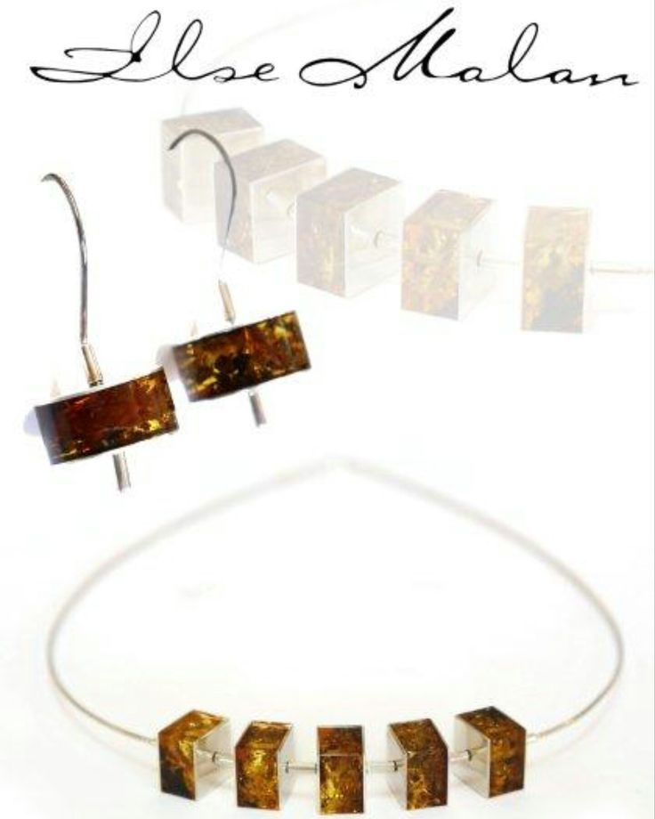 Baltic Amber in Silver