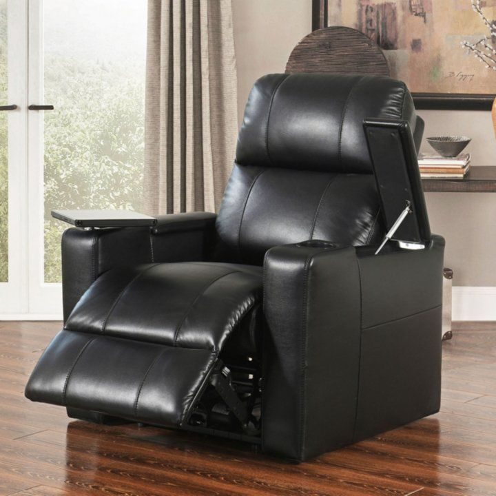 Travis Power Recline Home Theater Seating Assorted Colors Theater Recliners Home Theater Seating Abbyson Living