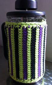 Design by Dalkær: Hæklet stempelkandevarmer
