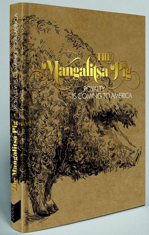"""The Mangalitsa Pig A History of the world famous breed featuring illustrated recipes by top Hungarian chefs and restaurants Hungarian Cookbook, Recipes: Tamás Bereznay """"the ambassador of Hungarian cuisine"""" http://www.magma.hu/muveszek.php?id=131"""