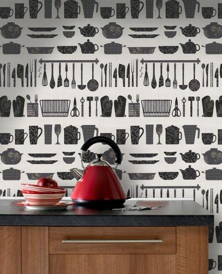 17 best ideas about papel pintado para cocinas on pinterest ...