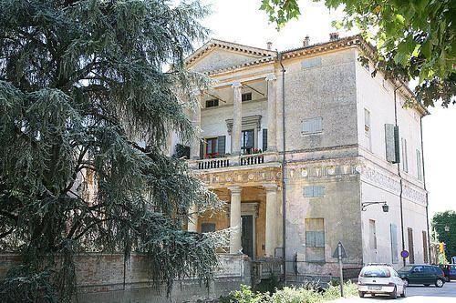 Andrea Palladio. Villa Pisani at Montagnana. 1552. garden facade