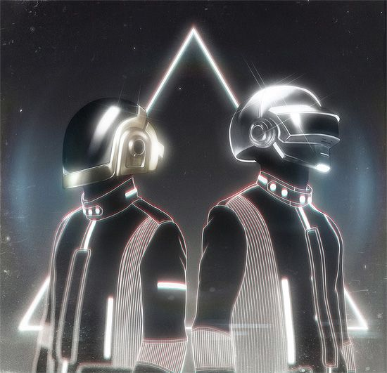 ReDiscovery: An Art Show Inspired by Daft Punk | Inspiration Grid | Design Inspiration