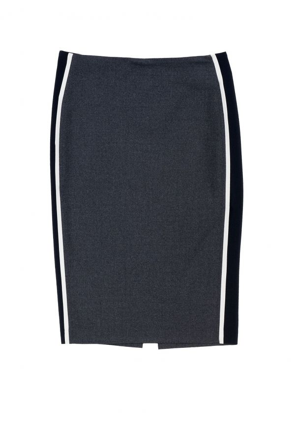 QL2 - KATY BAND PENCIL SKIRT  (IF YOU STOP I SEE YOU)#women's #fashion