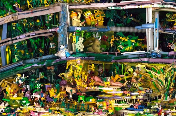 TOM DEININGER. Stroking Monet (detail). 2010s.