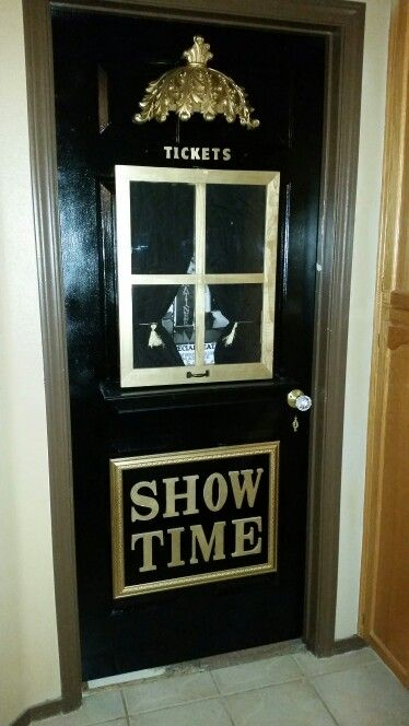 Ticket Booth Door In 2019 At Home Movie Theater Movie