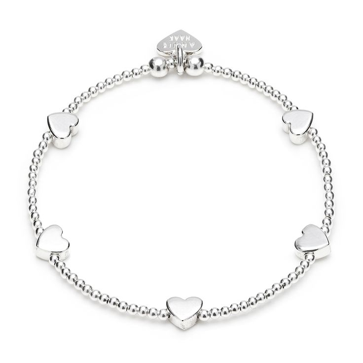 Follow ANNIE HAAK on Pinterest & REPIN to WIN this delicious Dainty Boxed Heart Bracelet
