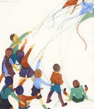 "Ethel Spowers ""Kites"" 1936 
