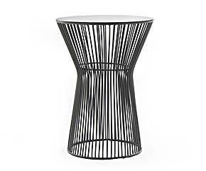 table d 39 appoint m tal gris 38 jill jim design furniture pinterest jim o 39 rourke. Black Bedroom Furniture Sets. Home Design Ideas