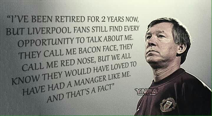 Sir Alex Quote